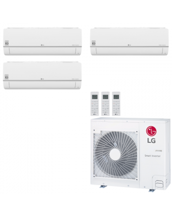 LG Multisplit Klimaanlage Wandgerät oder Deckenkassette 3,5kW+2x4,2kW