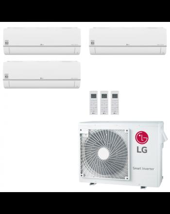 LG Multisplit Klimaanlage Wandgerät oder Deckenkassette 3x1,5kW