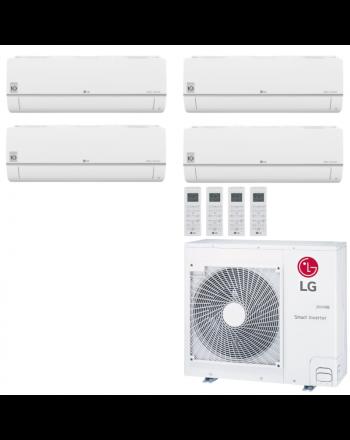 LG Multisplit Klimaanlage Wandgerät oder Deckenkassette 3x1,5kW+4,2kW