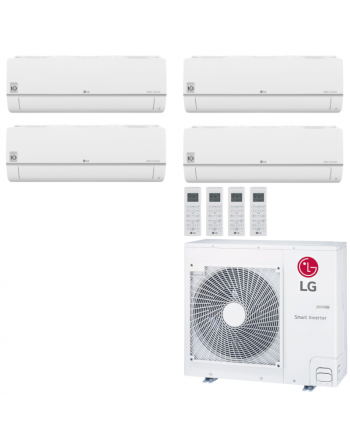 LG Multisplit Klimaanlage Wandgerät oder Deckenkassette 3x2,1+1x5,0kW