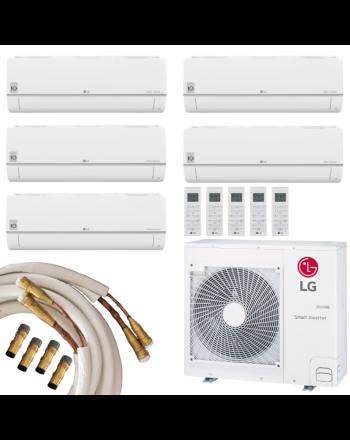 LG Multisplit Klimaanlage konfigurierbar 5x1,5 Quick-Connect