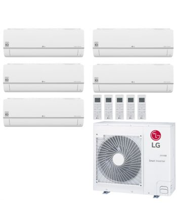 LG Multisplit Klimaanlage Wandgerät oder Deckenkassette 3x1,5+2x2,5kW