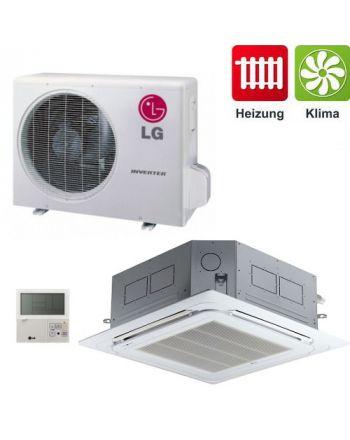 Klimagerät H-Inverter LG 4-Wege Deckenkassetten CT12 SET 3,5 kW SET