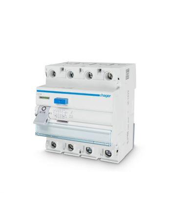 Hager Fehlerstrom-Schutzschalter | CDA440D | 40A, 4-pol.| 30mA | Typ A