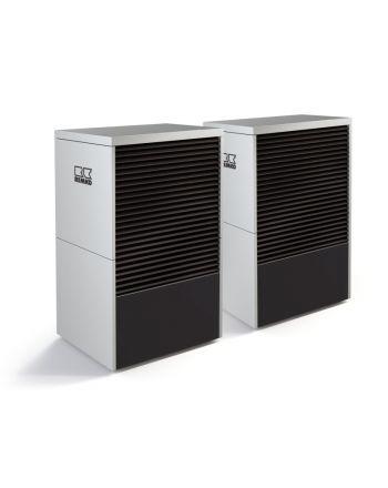 Remko Luft/Wasser Monoblock Wärmepumpe | LWM110 Duo Graphit | 13-20 kW
