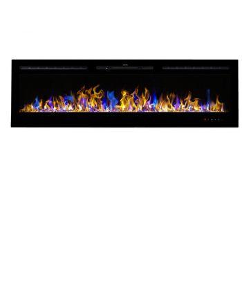 Aflamo LED Elektrokamin | Majestic 65 schwarz