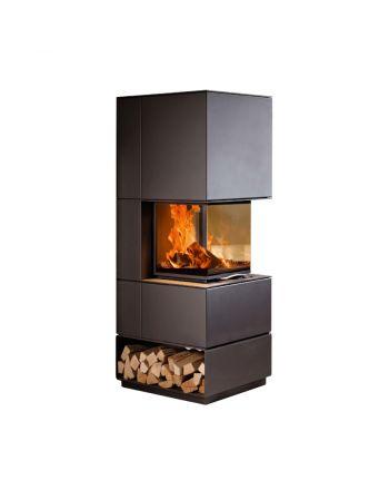 Austroflamm | Designkamin | Mel | 3-seitige Verglasung | 10 kW