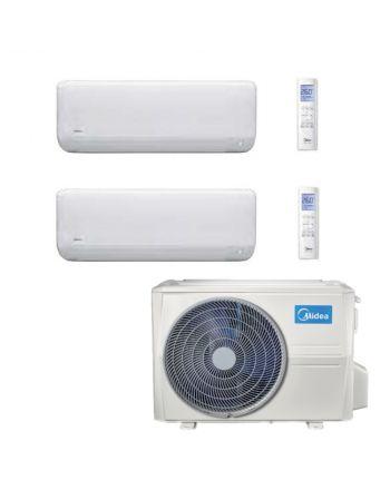 Midea Multisplit Klimaanlage Paket mit 2x Wandgerät mit 2,7kW