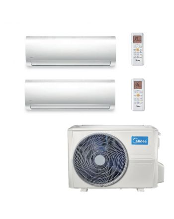 Midea Multisplit Klimaanlage Paket 2x Wandgerät mit 3,6kW
