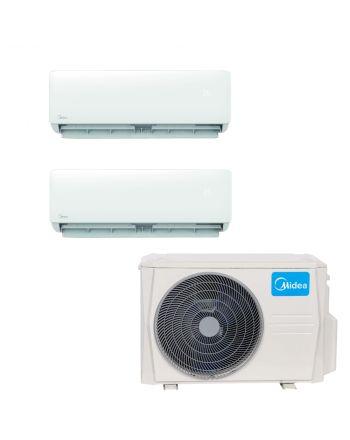 Midea Multisplit Klimaanlage Paket mit 2x Wandgerät mit 2,8kW
