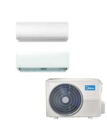Midea Multisplit Klimaanlage Paket 2x Wandgerät 2,8kW | 5,3kW