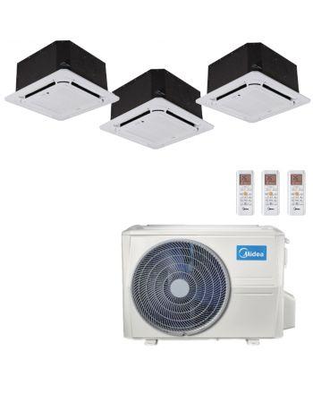 Midea Multisplit Klimaanlage Deckengerät 2x2,6kW und 1x5,3kW
