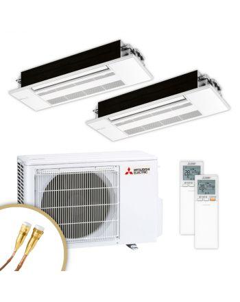 MITSUBISHI   Klimaanlage   MLZ-KP   2,5 kW + 2,5 kW   Quick-Connect