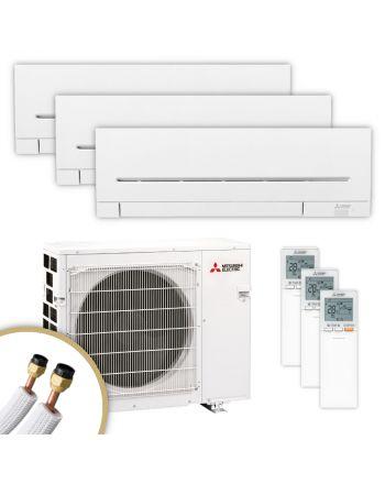 MITSUBISHI | Klimaanlage | MSZ-AP | 2× 2,5 kW + 3,5 kW