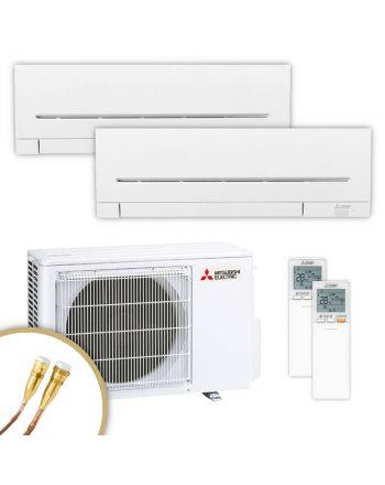 MITSUBISHI | Klimaanlage | MSZ-AP | 3,5 kW + 3,5 kW | Quick-Connect