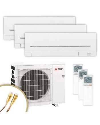 MITSUBISHI | Klimaanlage | MSZ-AP | 2× 2,5 kW + 3,5 kW | Quick-Connect