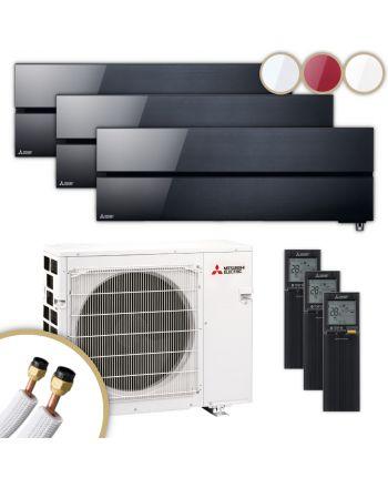 MITSUBISHI | Klimaanlage | MSZ-LN | 2× 2,5 kW + 3,5 kW
