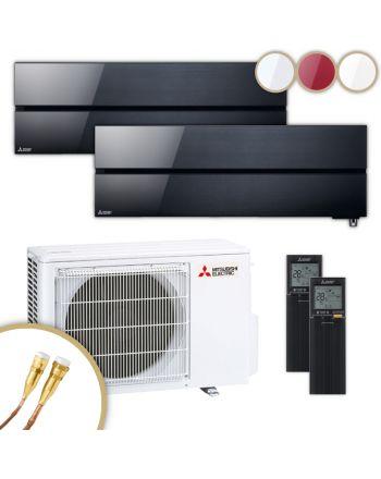 MITSUBISHI | Klimaanlage | MSZ-LN | 2,5 kW + 2,5 kW | Quick-Connect