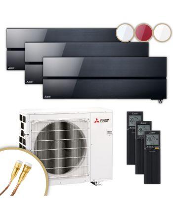 MITSUBISHI | Klimaanlage | MSZ-LN | 2× 2,5 kW + 3,5 kW | Quick-Connect