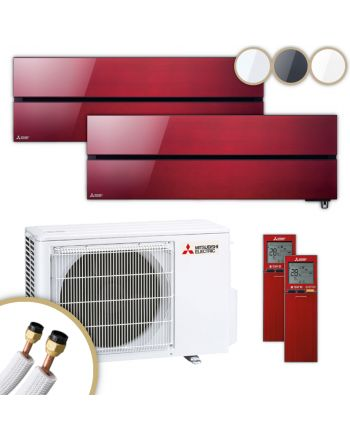 MITSUBISHI | Klimaanlage | MSZ-LN | 2,5 kW + 3,5 kW