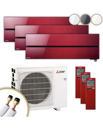 MITSUBISHI | Klimaanlage | MSZ-LN | 2× 2,5 kW + 5,0 kW