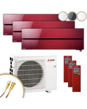 MITSUBISHI | Klimaanlage | MSZ-LN | 2× 2,5 kW + 5,0 kW | Quick-Connect