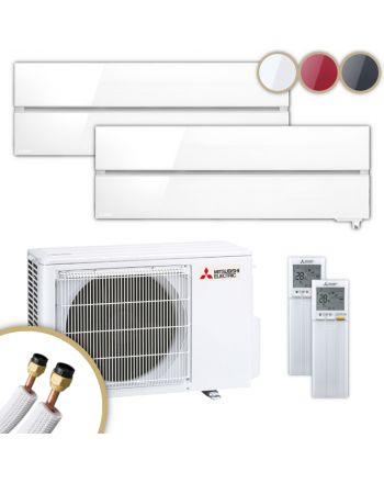 MITSUBISHI | Klimaanlage | MSZ-LN | 1,8 kW + 2,5 kW