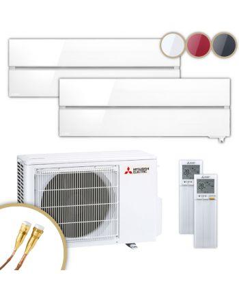 MITSUBISHI | Klimaanlage | MSZ-LN | 1,8 kW + 2,5 kW | Quick-Connect