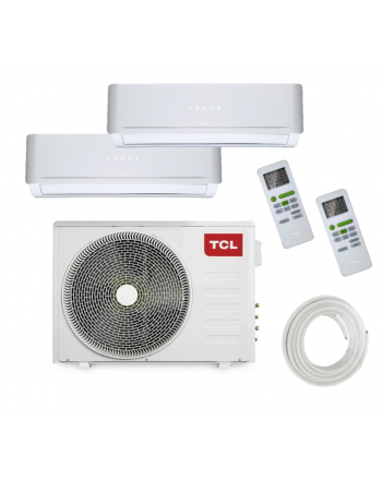 TCL Inverter-Multisplit-Klimaanlage | FMA Duo | 2 x 2,5 kW | 18000 BTU