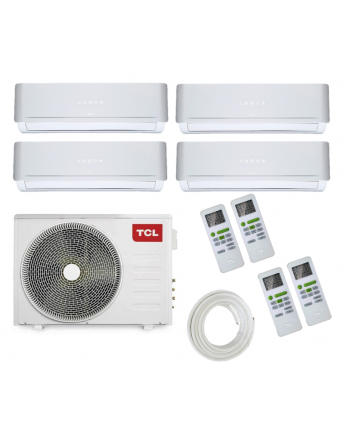 TCL Multisplit-Klimaanlage | FMA Quattro | 4 x 2,2 kW | 30000 BTU