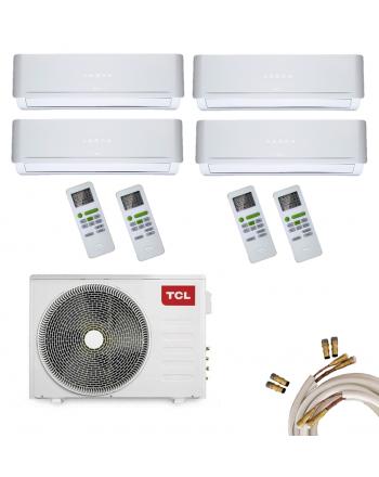 TCL Multisplit-Set Quick-Connect | FMA Quattro | 4 x 2,2kW | 30000 BTU