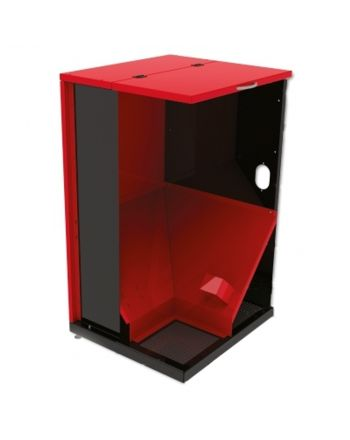 Pelletbehälter FH-500 Pelletsilo Thermoflux 500 Liter Volumen