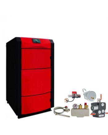 Holzvergaser PID LOGIC 40 kW ✔ BAFA förderbar ✔ Komplettset 1