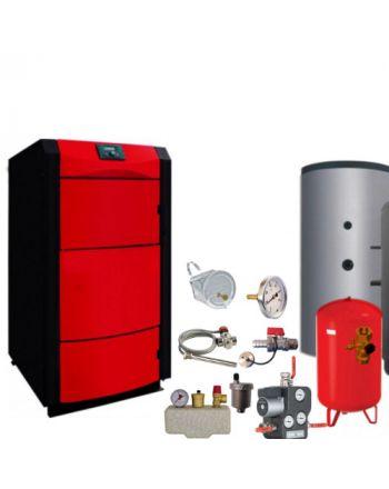 Holzvergaser PID LOGIC 27 kW ✔ BAFA förderbar ✔ Komplettset 2