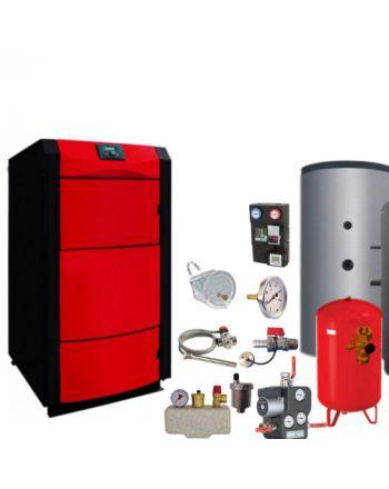 Holzvergaser PID LOGIC 40 kW ✔ BAFA förderbar ✔ Komplettset 3
