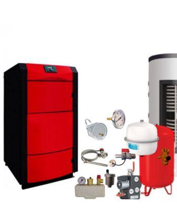 Holzvergaser PID LOGIC 40 kW ✔ BAFA förderbar ✔ Komplettset 4