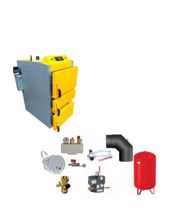 Santer Solar Holzvergaser Proburner 2.0 25 KW ✔ Komplettset 1
