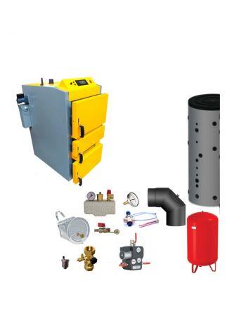 Santer Solar BAFA Holzvergaser Proburner 2.0 40 KW ✔ Komplettset 2