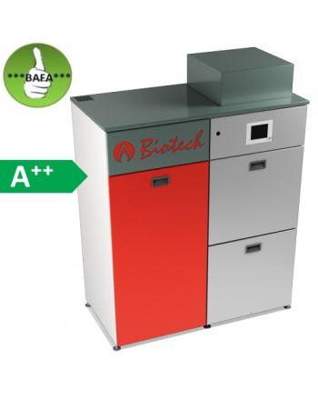 Biotech Bafa Pelletsheizkessel PZ32RL automatische Befüllung 32,2 kW