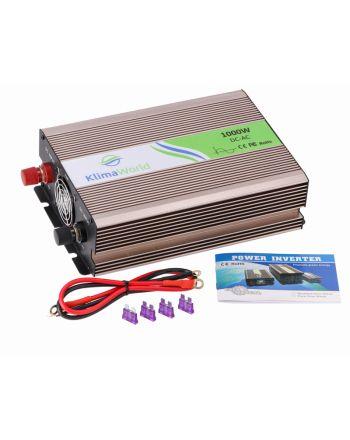 Klimaworld Spannungswandler | REP1000 | DC/AC | 12V auf 220V | 1000 Watt