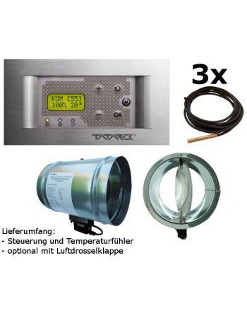 Tatarek Steuerung Wasserkamine RT-08P LUX Puffer TD Titanium