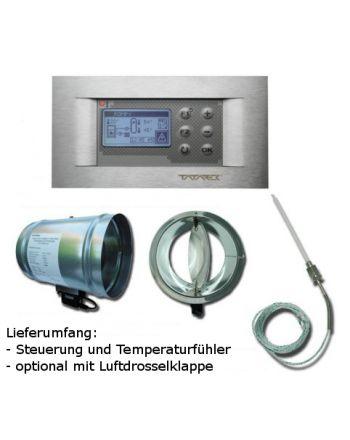 Tatarek Abbrandsteuerung Kamine RT-08 OS-Grafik II TD Titanium