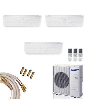SAMSUNG Multi-Split | 3x25 m² Windfree-Wandgeräte | 6 kW Quick Connect
