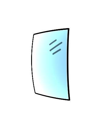 Glaskeramikscheibe für Spartherm Ambiente A4 H2O