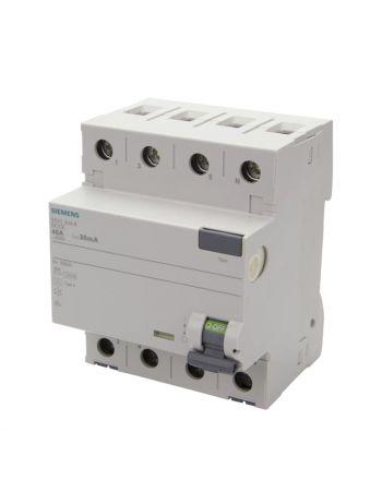 Siemens FI-Schutzschalter Typ A | 30mA | 40A | 5SV3344-6