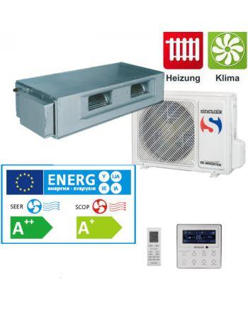 Split - Klimaanlage Kanalgerät Sinclair UNI DC-Inverter 7kW