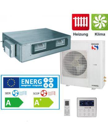 Split - Klimaanlage Kanalgerät Sinclair UNI DC-Inverter 10kW 3Phasig