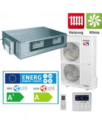 Split - Klimaanlage Kanalgerät Sinclair UNI DC-Inverter 16 kW 3Phasig