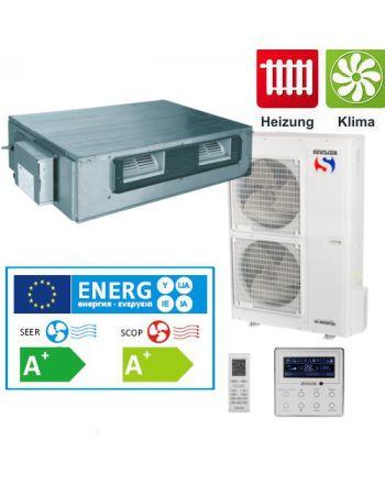 Split - Klimaanlage Kanalgerät Sinclair UNI DC-Inverter 14 kW 3Phasig