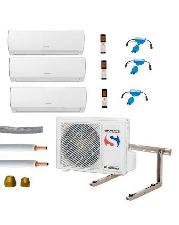 Klimaanlage Komplettset Multisplit Sinclair Wandgeräte 3x2,1kW